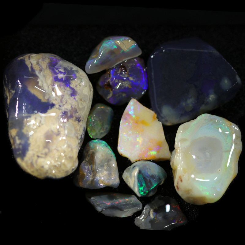 3935.00 CTS COLOURFUL OPAL ROUGH MINE RUN FROM LIGHTNING RIDGE[BRP169]