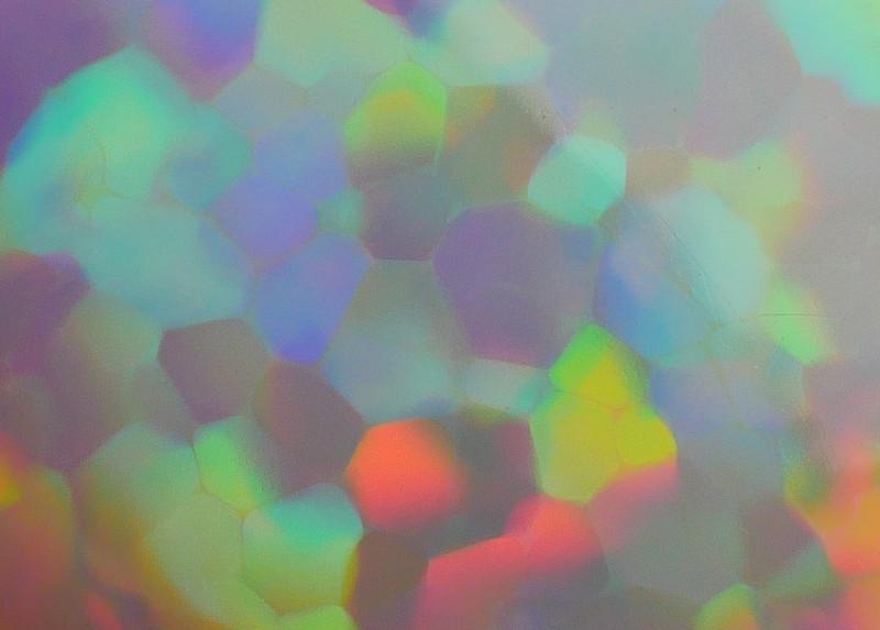 8.90 CRT RARE! 3D RAINBOW PRISM PUZZLE COMPLETE COLOR WELO OPAL-