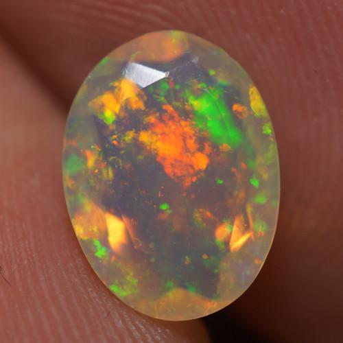 1.16 CT AAA Quality Faceted Cut Ethiopian Opal-BAF456