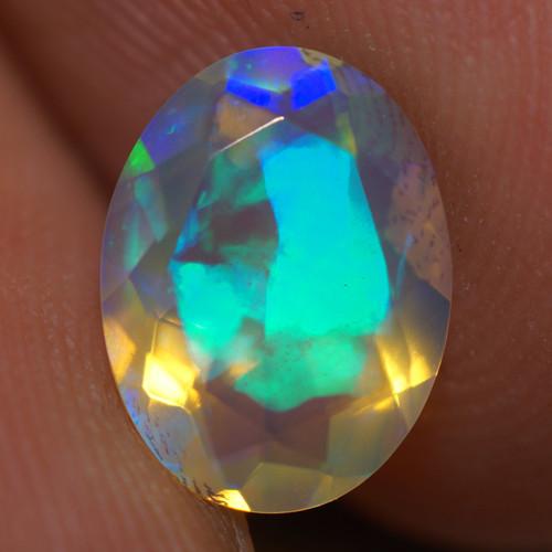 1.25 CT AAA Quality Faceted Cut Ethiopian Opal-BAF460