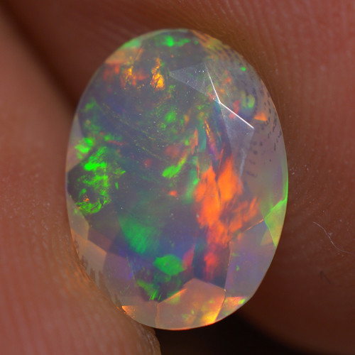 1.16 CT AAA Quality Faceted Cut Ethiopian Opal-BAF466