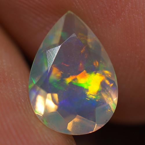 1.28 CT AAA Quality Faceted Cut Ethiopian Opal-BAF474