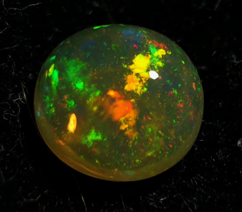 ++ GEM PINFIRE  Mexican 1ct Crystal Opal (OM)