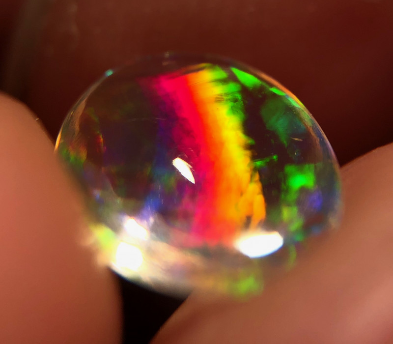 Transparent Mexican 0.870ct Crystal Opal (OM)