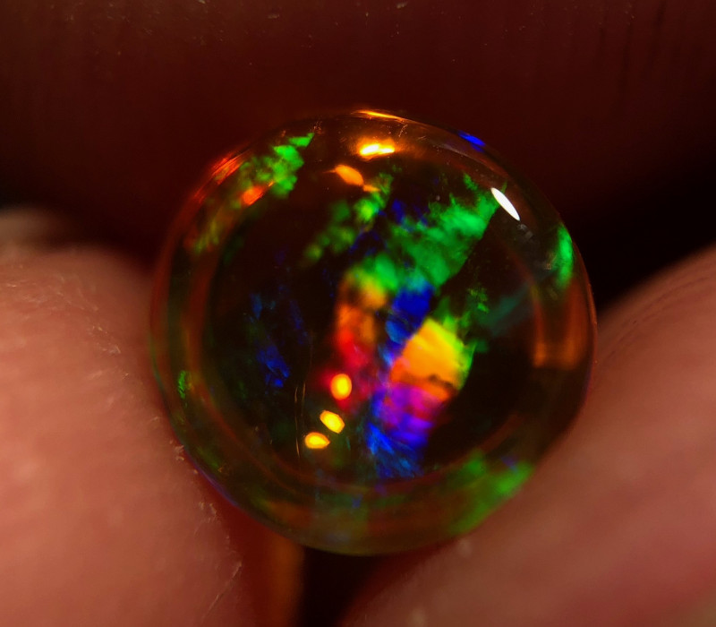 ++ Electric Mexican 1.1ct Crystal Opal (OM)