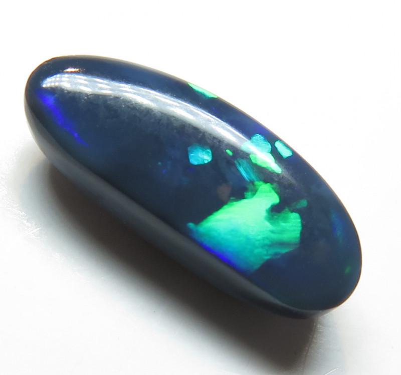 1.85Ct Black Opal Lightning Ridge Loose Stone