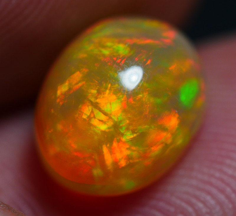 1.75 CRT DARK BASE CHAFF FIRE PATTERN PLAY COLOR WELO OPAL
