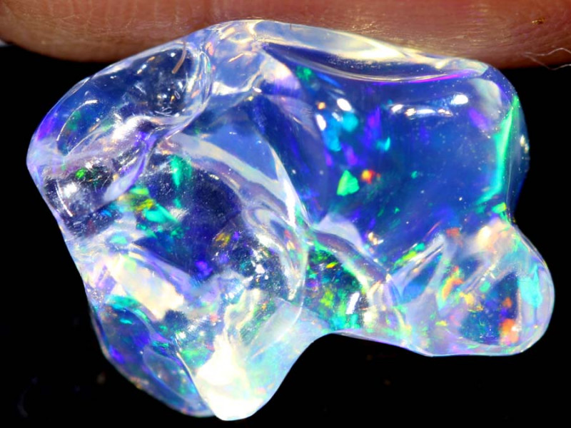 3.4 CTS MEXICAN FIRE OPAL STONE   FOB-1861