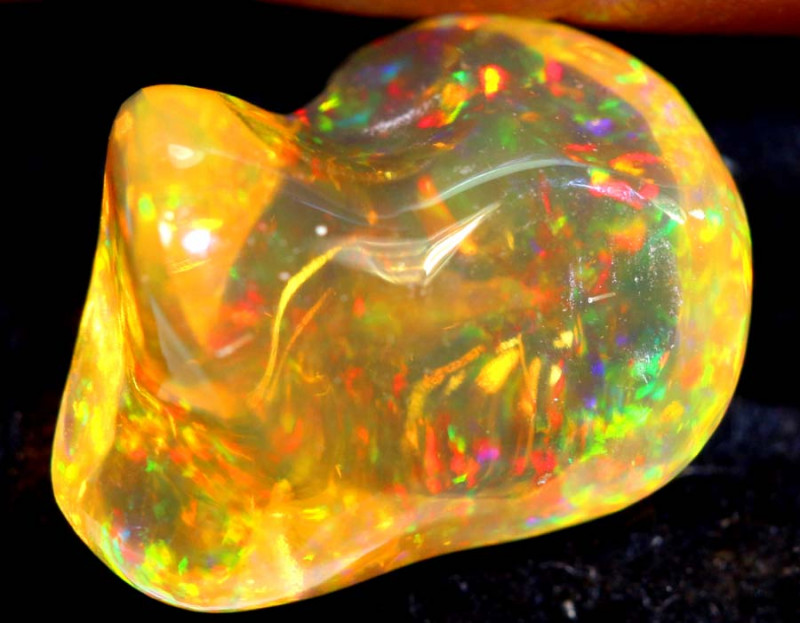 2.9 CTS MEXICAN FIRE OPAL STONE   FOB-1865