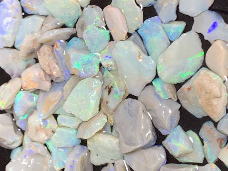 430 Carats of Lightning Ridge Rough Opals,#377