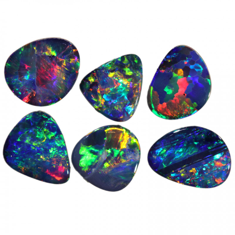 4.08 CTS FREE SHAPED OPAL DOUBLETS PARCELS[SEDA2225]