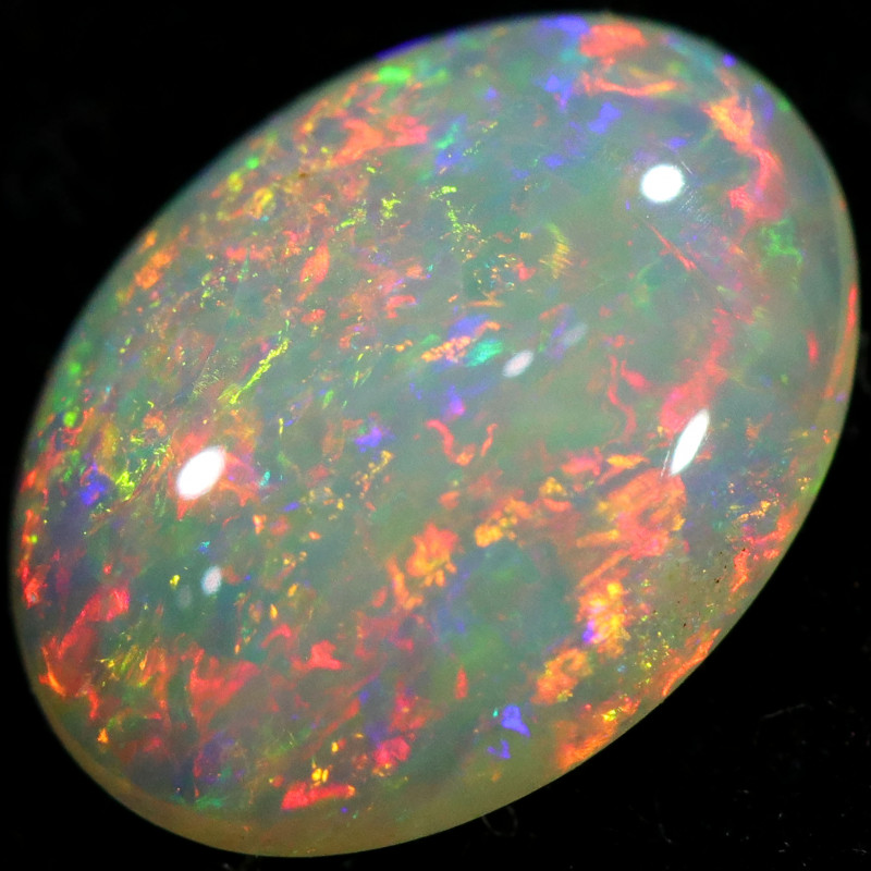 0.77 CTS SOLID WHITE CLIFFS OPAL-POLISHED[LRO555]