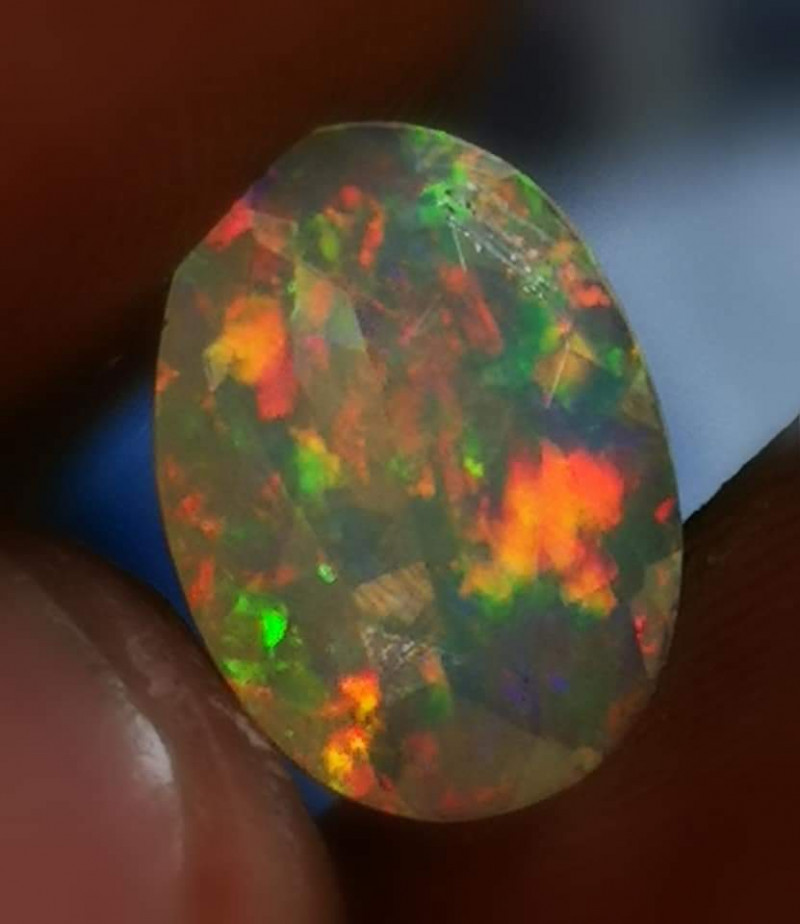 Rainbow Natural Opal*