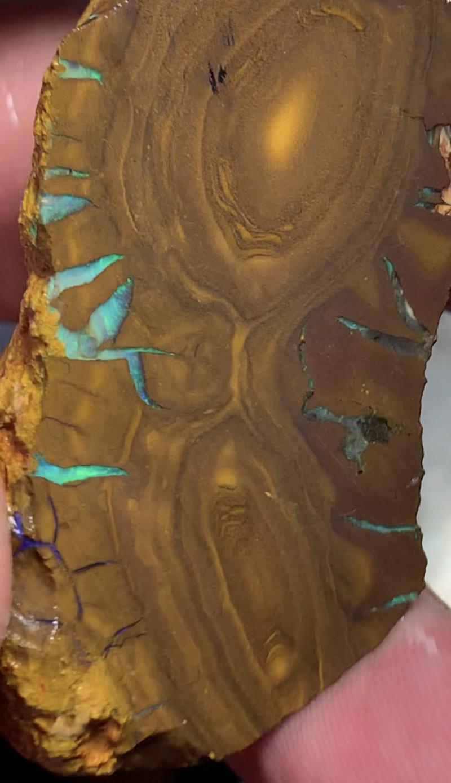 750 CTs Cutters Grade; Rough Boulder Opal, Queensland Boulder; #415