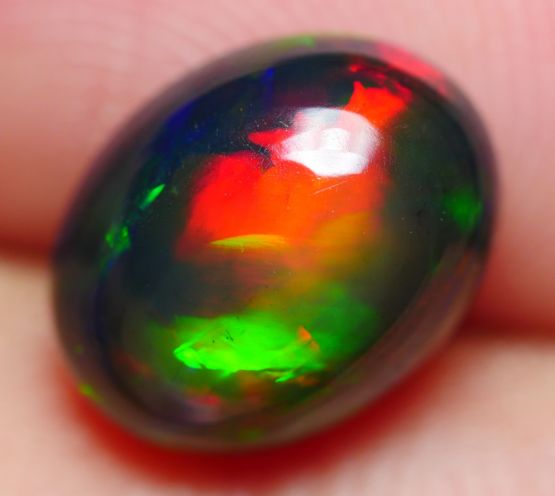 1.70 CRT BEAUTY SMOKED NEON FLASH PLAY COLOR PATTERN WELO OPAL-