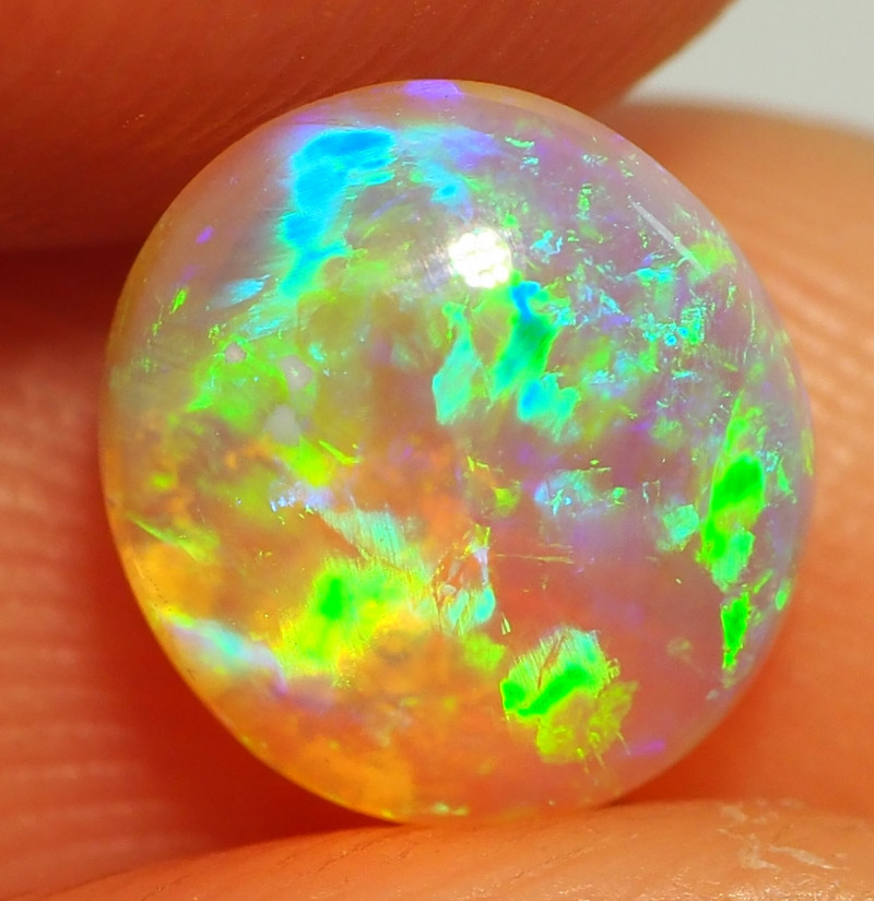 1.55CT  CRYSTAL OPAL FROM LIGHTNING RIDGE RE595
