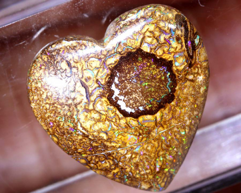 10.90 CTS HEART SHAPE YOWAH  OPAL   STONE   NC-6153