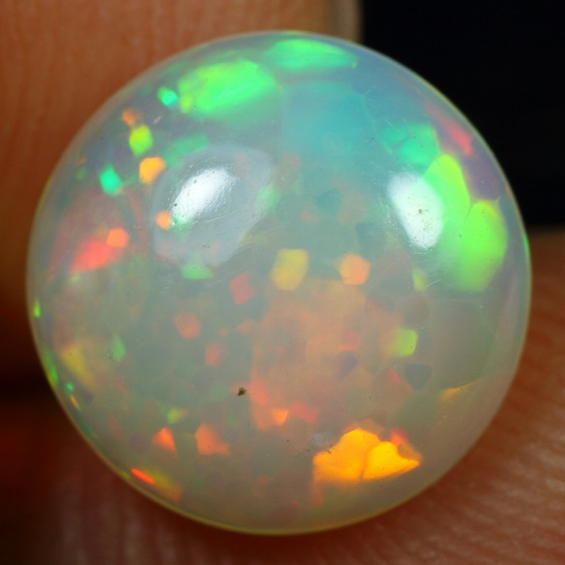 SUPER DEAL 2.45cts Amazing Cell Pattern Natural Ethiopian Welo Opal
