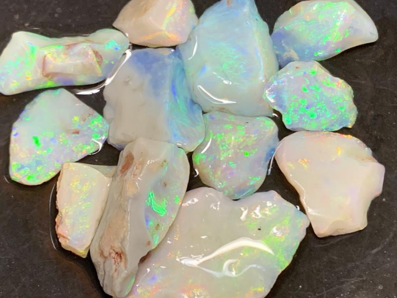 42.2 CTs Cutters Grade rough/Lightning Ridge Rough Opals,#454