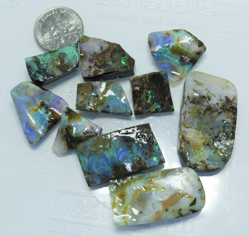 190ct Queensland Boulder Opal Rub /Rough Stone