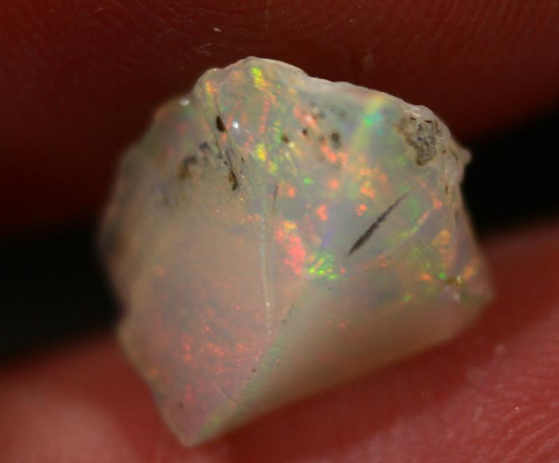 NR   Ct.  2.60  ST100  Rough Ethiopian Wello Opal  -   Gem Grade