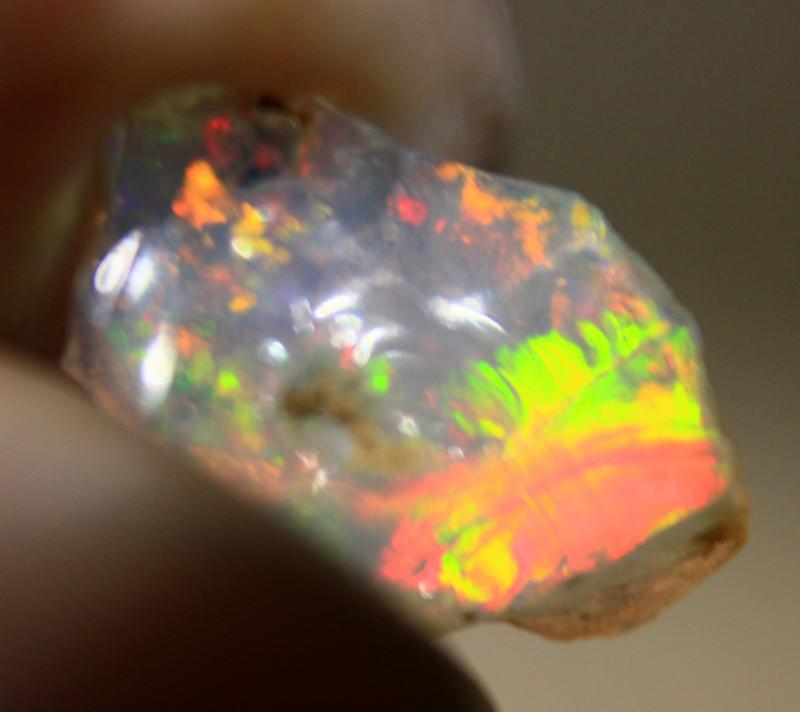 NR   Ct.  1.40  ST201  Rough Ethiopian Wello Opal  -   Gem Grade