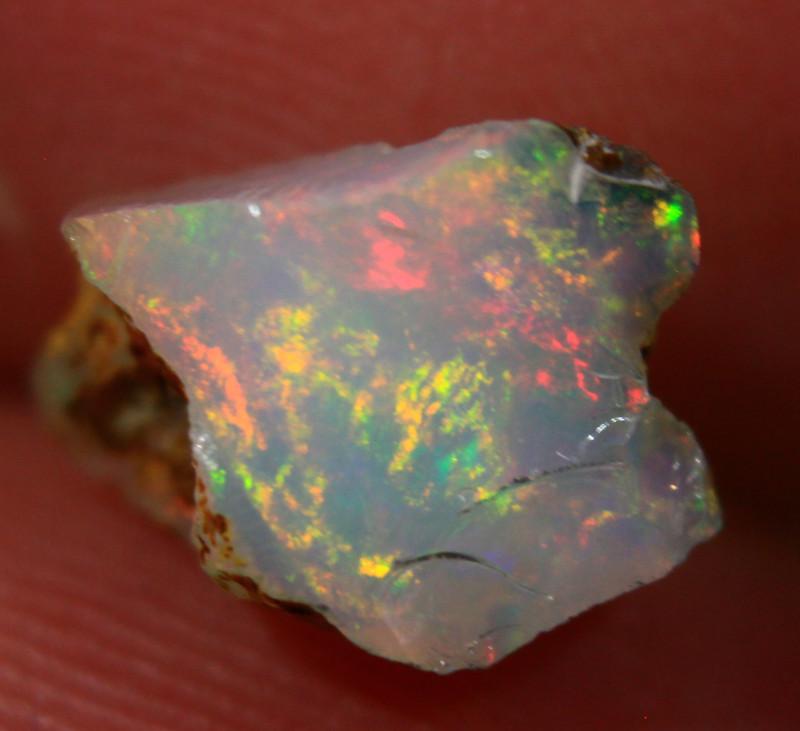 NR   Ct.  1.70  ST204  Rough Ethiopian Wello Opal  -   Gem Grade