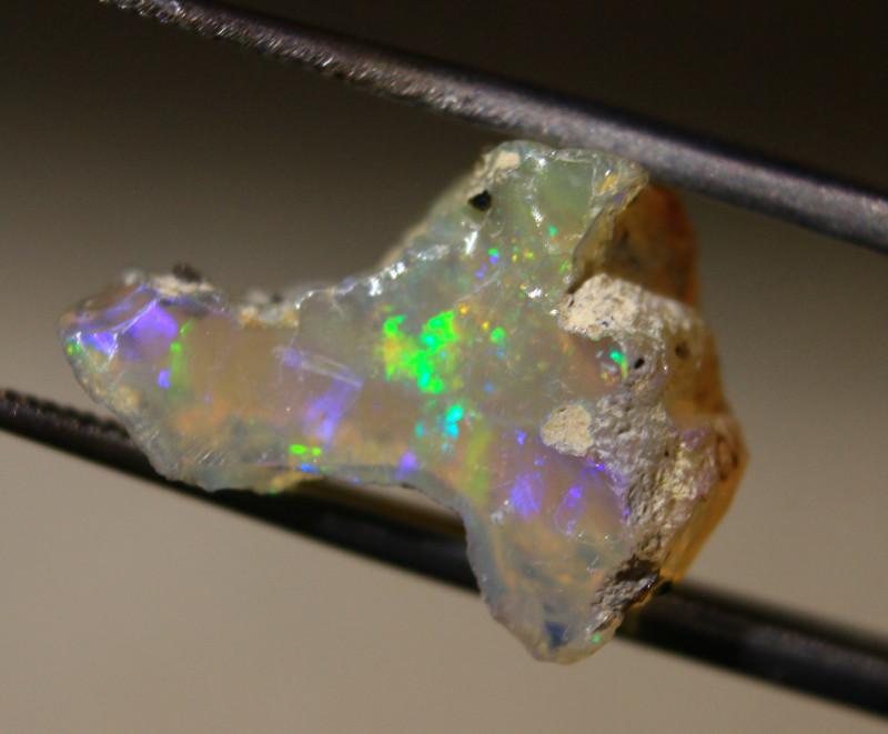 NR   Ct.  4.40  ST213  Rough Ethiopian Wello Opal  -   Gem Grade