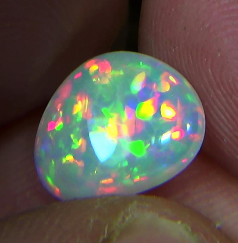 1.90 ct Ethiopian Welo HONEYCOMB brilliant opal N7 5/5