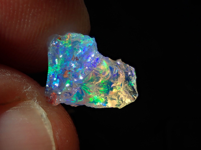 2.34 Cts Natural Opal Rough Specimen Mexican Fire Opal
