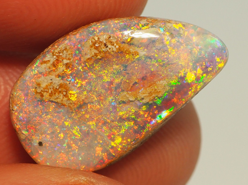 6.85CT PIPE WOOD REPLACEMENT BOULDER OPAL RE677