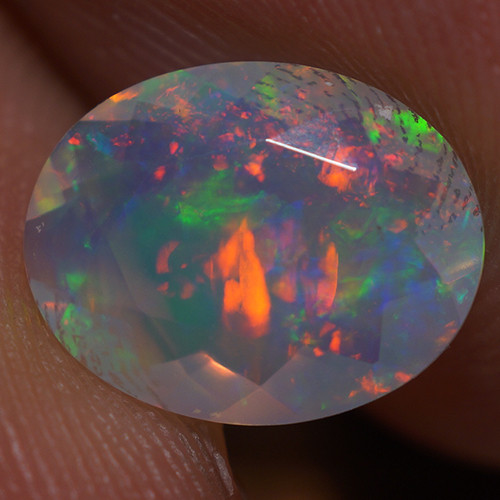 1.30 CT 10X8MM  Top Quality Welo  Ethiopian Faceted Opal -EBF371