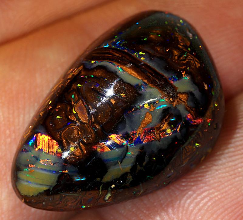 33ct 22x15mm Yowah Boulder Opal Matrix [LOB-2682]