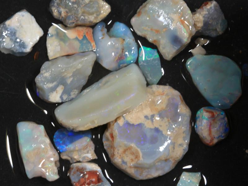 78ct Mixed Australian Craft Rough Opal[21625]