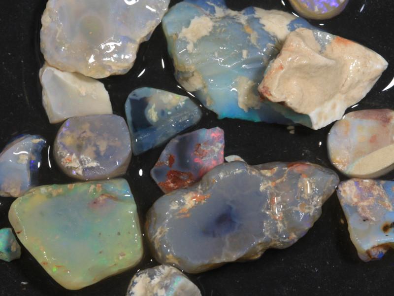 115ct Mixed Australian Craft Rough Opal[21626]