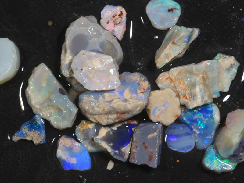 76ct Mixed Australian Craft Rough Opal[21631]