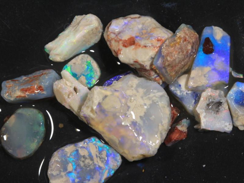 82ct Mixed Australian Craft Rough Opal[21633]