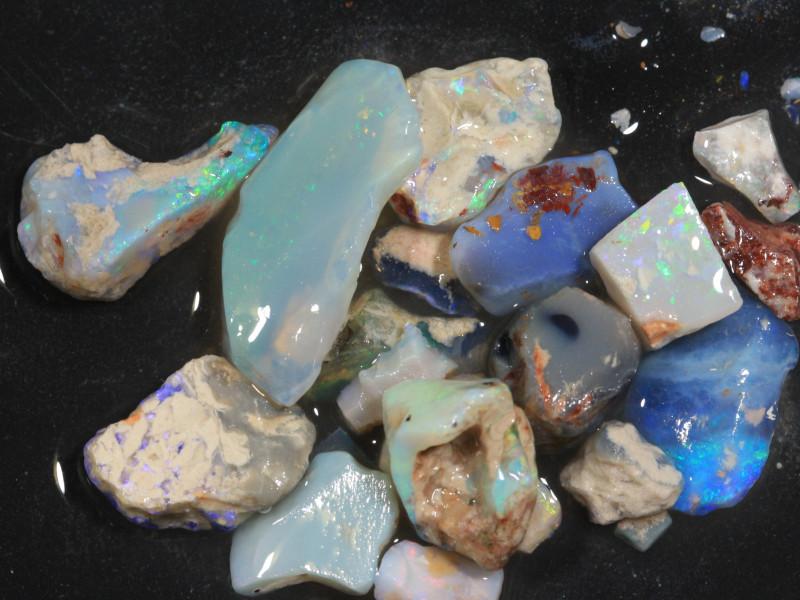 74ct Mixed Australian Craft Rough Opal[21634]