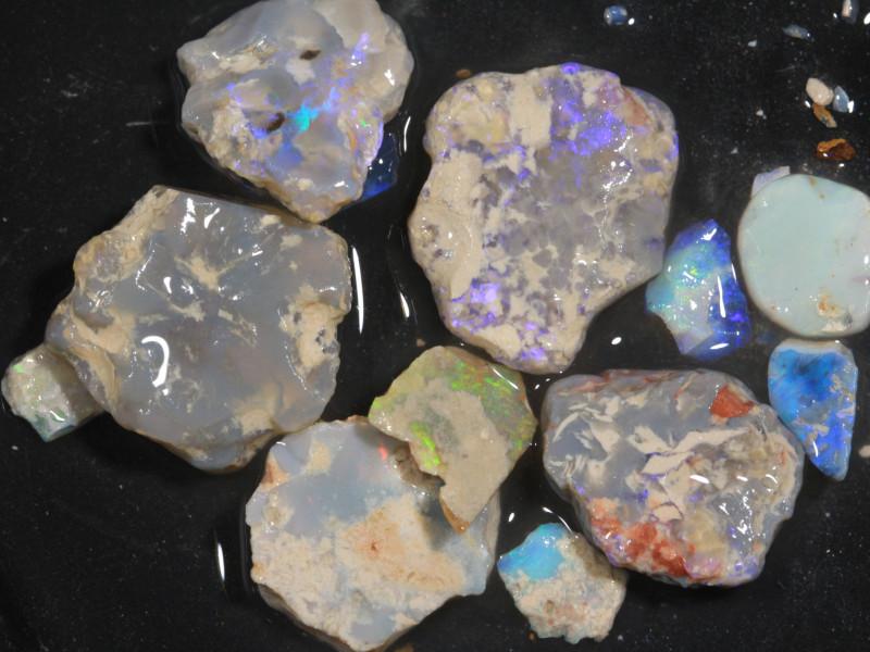 80ct Mixed Australian Craft Rough Opal[21635]