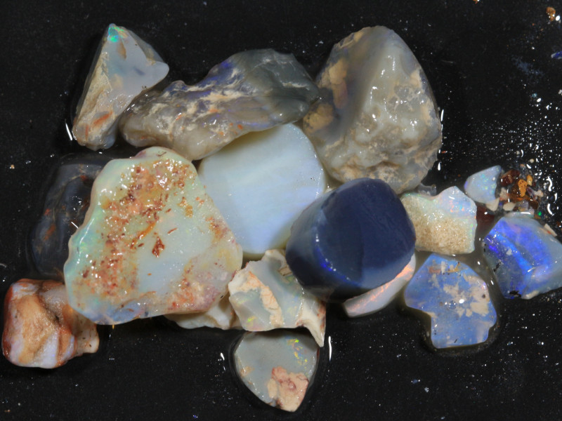 90ct Mixed Australian Craft Rough Opal[21639]