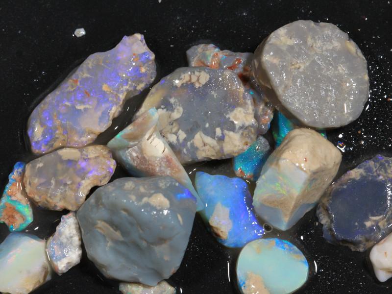 100ct Mixed Australian Craft Rough Opal[21640]