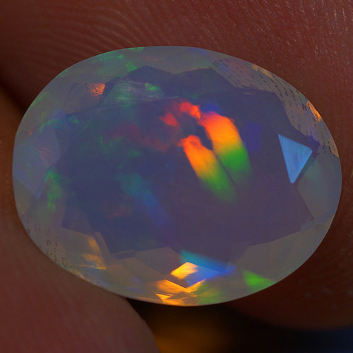 3.20 CT Good Quality Faceted Cut Ethiopian Opal-EBF424