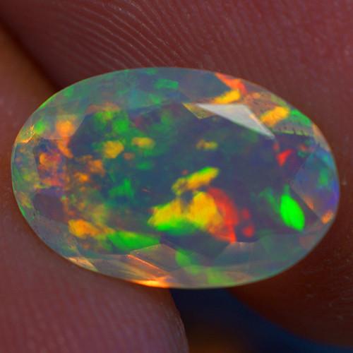 1.70 CT Good Quality Faceted Cut Ethiopian Opal-EBF425