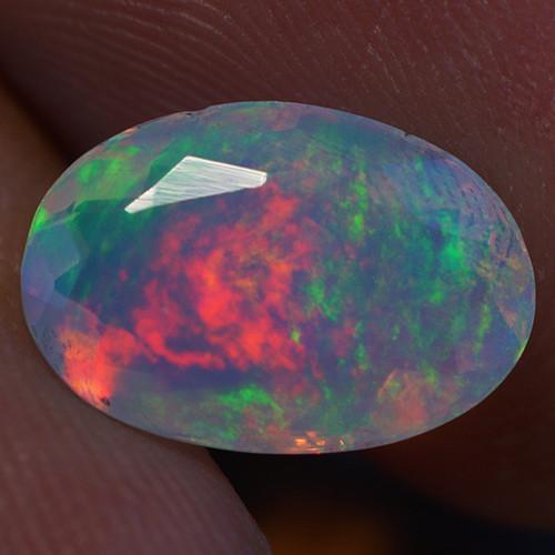 1.92 ct Good Quality Faceted Cut Ethiopian Opal-EBF428