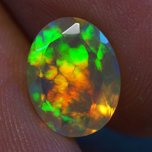 1.60 ct Good Quality Faceted Cut Ethiopian Opal-EBF433