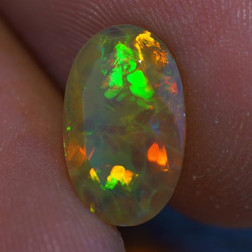 1.53 ct Good Quality Faceted Cut Ethiopian Opal-EBF435