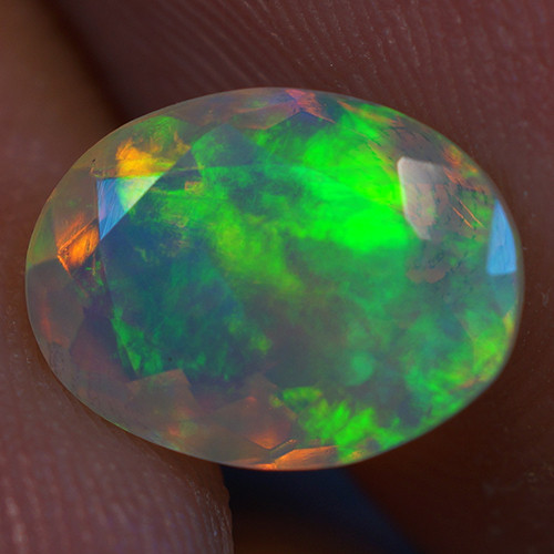 1.50 ct Good Quality Faceted Cut Ethiopian Opal-EBF436