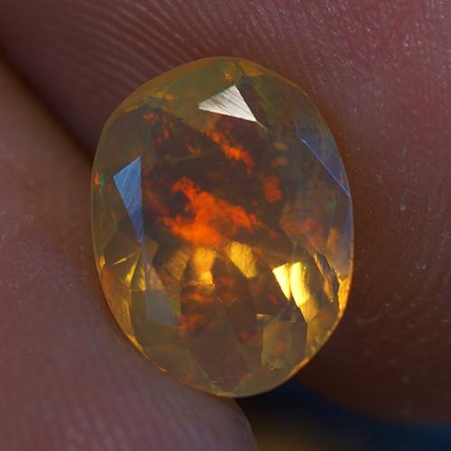 1.50 ct Good Quality Faceted Cut Ethiopian Opal-EBF437