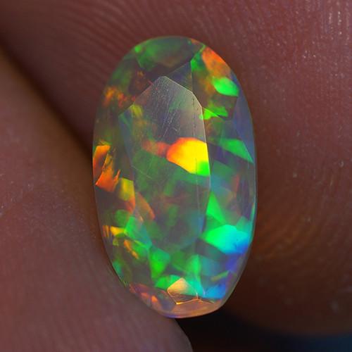 1.70 ct Good Quality Faceted Cut Ethiopian Opal-EBF439