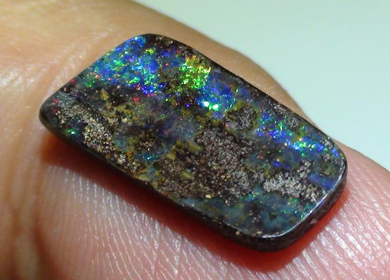 2.80 ct Beautiful Multi Color Queensland Boulder Opal